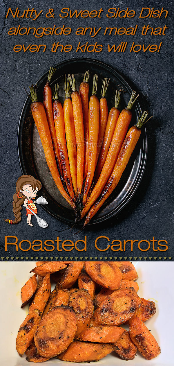 You've never really tasted how delicious carrots are, or any vegetable for that matter, until you've roasted them. These Roasted Carrots by Foodie Home Chef are amazingly sweet, nutty & oh so delicious. I guarantee this will become your preferred way to cook them from now on... even the kids love 'em!! Roasted Carrots | Carrot Recipes | Roasted Vegetables | Sheet Pan Recipes | Side Dish Recipes | Vegetarian Recipes  | Vegan Recipes | Healthy Recipes | #foodiehomechef @foodiehomechef